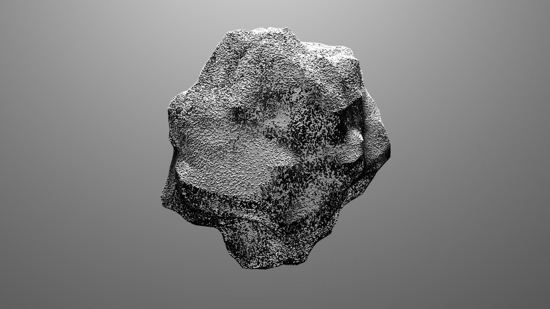 Data in the form or a giant rock