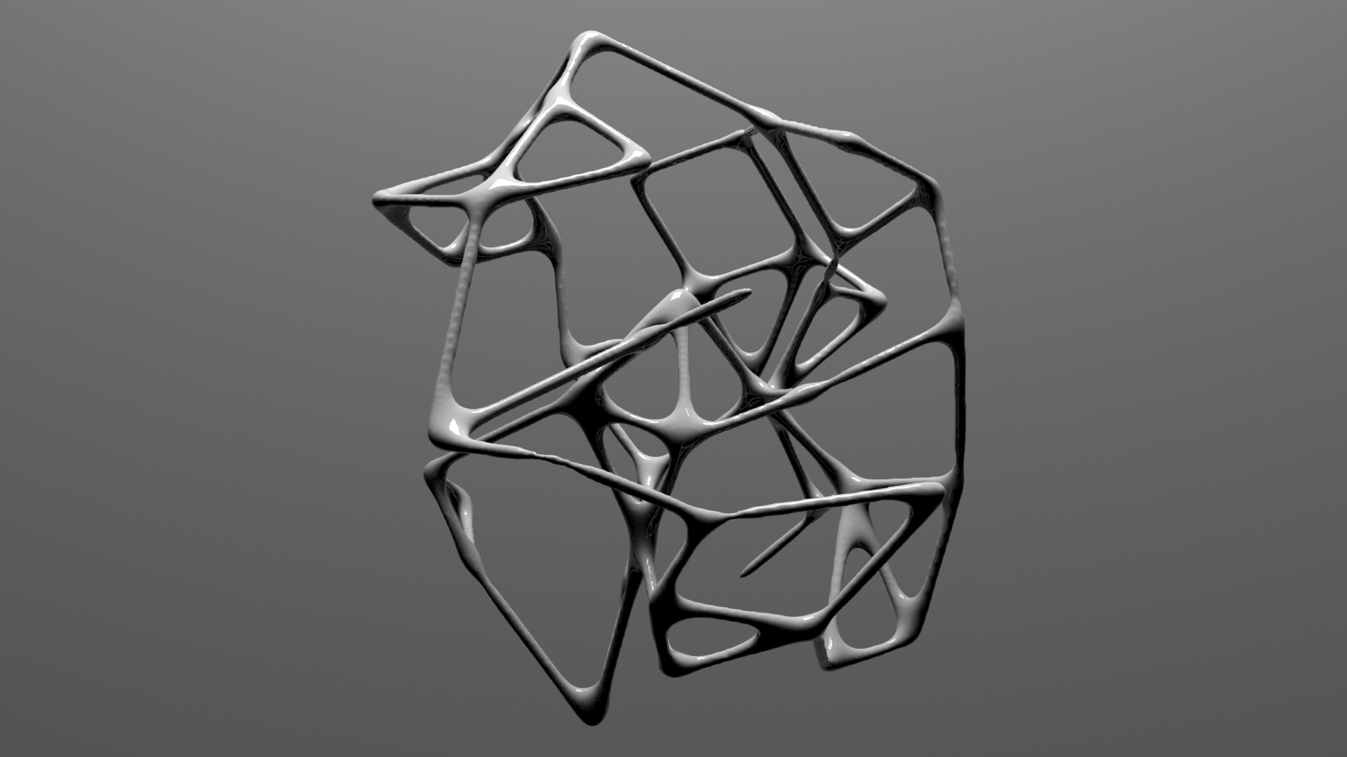 A shape formed from MD5 hash